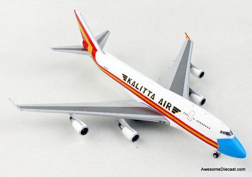 Gemini Jets 1:400 Boeing 747-400F: Kalitta Air / Mask Livery