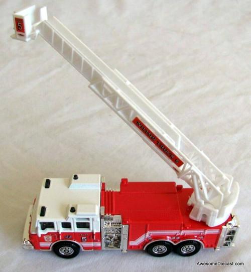 Matchbox Pierce Velocity Aerial Fire Truck: Wilton Truck 5