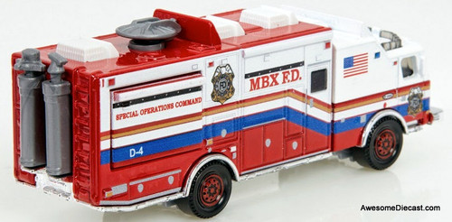 RARE!! Matchbox E-One Mobile Command Center: MBX Fire Department