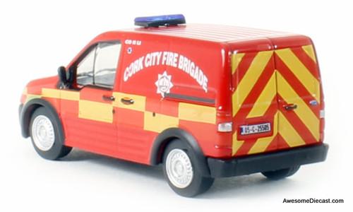 Oxford 1:76 Ford Transit Connect: Cork City Fire Brigade, Ireland