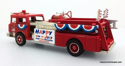 Corgi 1:50 Mack CF Pumper: 4th Of July Parade Decoration