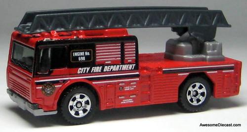Matchbox 2006 Fire Engine: City Fire Department