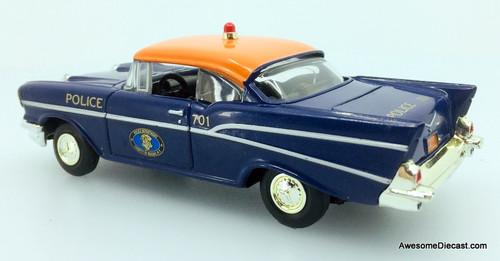 Corgi 1:43 1957 Chevrolet Bel Air: Nassau County Police Department, New York