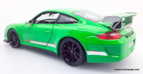 Maisto 1:18 Porsche 911 GT3 RS 4.0, Green
