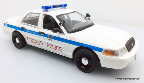 Greenlight 1:24 2008 Ford Crown Victoria Police Interceptor: Chicago Police Department
