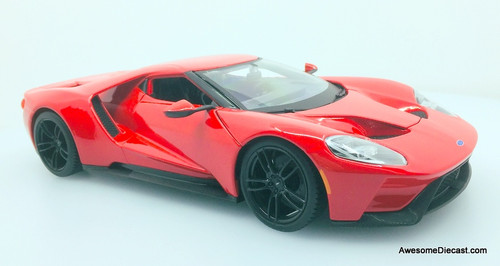 Maisto 1:18 2017 Ford GT, Red