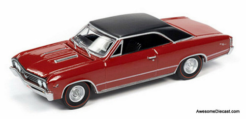 AutoWorld 1:64 1967 Chevrolet Chevelle SS, Red