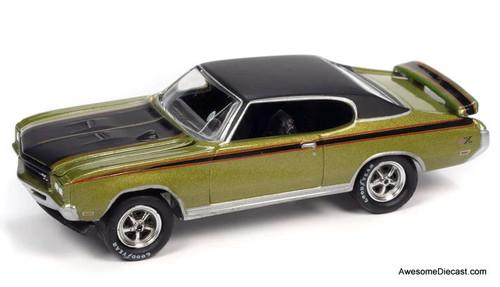 Johnny Lightning 1:64 1971 Buick GSX, Metallic Green