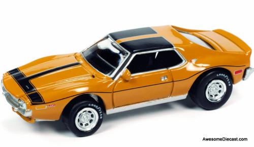 Johnny Lightning 1:64 1971 AMC Javelin AMX, Orange