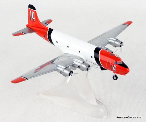 Herpa 1:200  McDonnell Douglas C-54:  Aero Union Skymaster Air Tanker