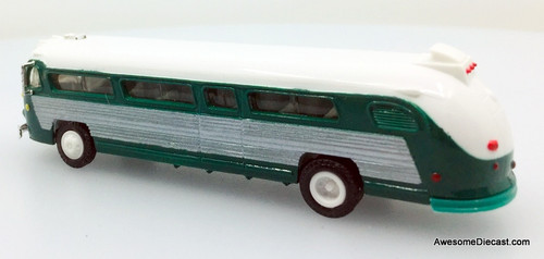 Only One!! American Precision Models 1:87 Flxible Bus, Green