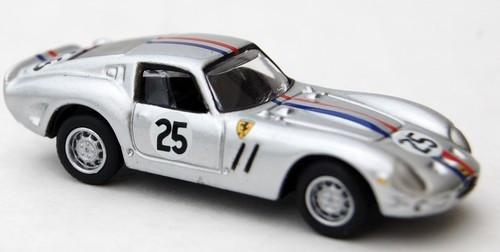 BUB 1:87 Ferrari 250 GTO Silver #25: Special Edition Release