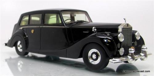 TSM 1:43 1950 Rolls Royce Silver Wraith: Japanese Imperial Limousine
