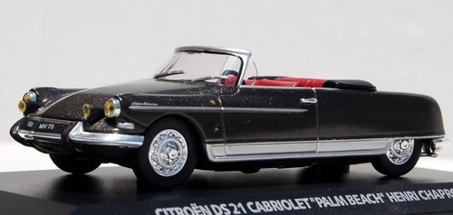 Norev 1:43 1963 Citroen DS21 Cabriolet Henri Chapron / Palm Beach Edition