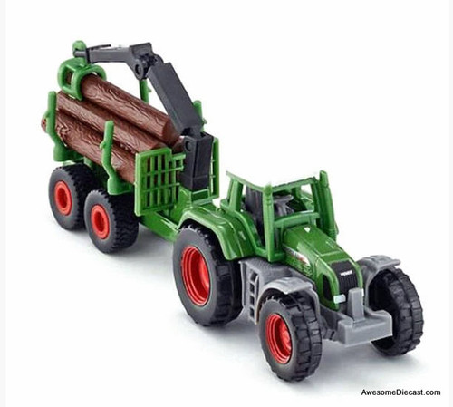 Siku 1:87 Tractor with Forestry Trailer and Boom