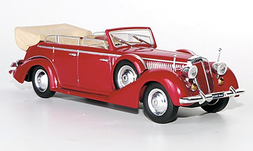 Starline Models 1:43 1938 Lancia Astura IV Parade Car: Red