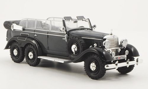 Whitebox 1:43 1938 Mercedes-Benz G-4 Parade Car (Gray)