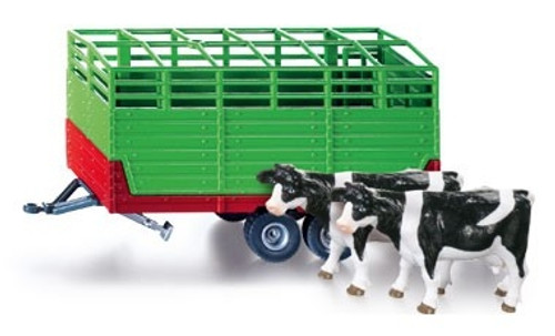 Siku 1:32 Stock Trailer w/ Cows