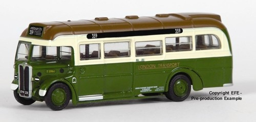 EFE 1:76 AEC 10T10 Bus: London Transport - GREEN