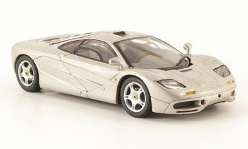 Minichamps 1:43 1993 McLaren F1 Street Car: Silver