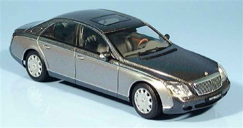 AUTOart 1:43 Maybach 57 SWB, Black/Siver