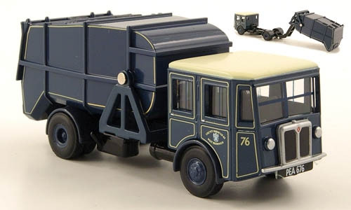 Oxford Diecast 1:76  Shelvoke and Drewry Garbage Truck: County Borough Of West Bromwich