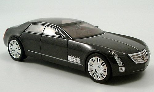 Norev 1:43 Cadillac Sixteen Concept Car: Midnight Silver Metallic