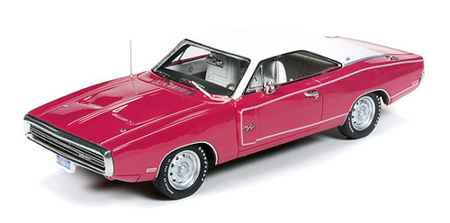 Auto World 1:43 1970 Dodge Charger: Panther Pink