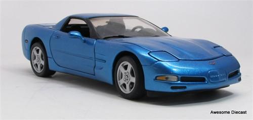 Franklin Mint 1:24 1999 Corvette (Cobalt Blue)