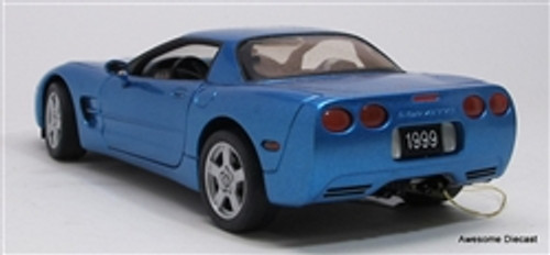 Franklin Mint 1:24 1999 Chevrolet Corvette, Cobalt Blue