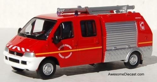 Del Prado 1:57 2002 Fiat Ducato Light Pump Rescue Unit