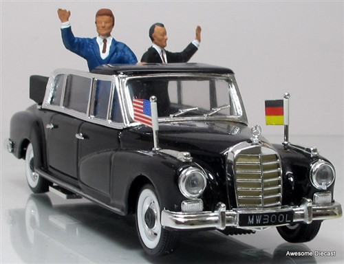 Rio 1:43 1963 Mercedes-Benz 300d Limousine: Kennedy-Adenauer