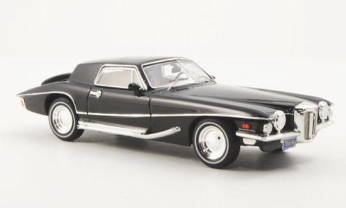 Premium X 1:43 1971 Stutz Blackhawk: Black