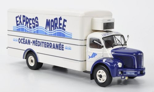 IXO 1:43 1960 Berliet GLR *M Refrigerated Truck: Express Maree