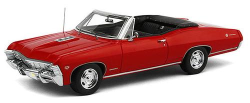 TSM 1:43 1967 Chevrolet Impala SS Convertible: Bolero Red
