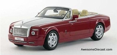 Kyosho 1:43 Rolls-Royce Phantom Drophead Coupe (Ensign Red)