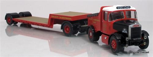 Corgi 1:50 Scammell Highwayman Ballast W/ Low Loader: Hallett Silbermann