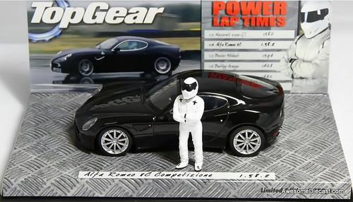 Minichamps 1:43 Alfa Romeo 8C Competizione (Top Gear)