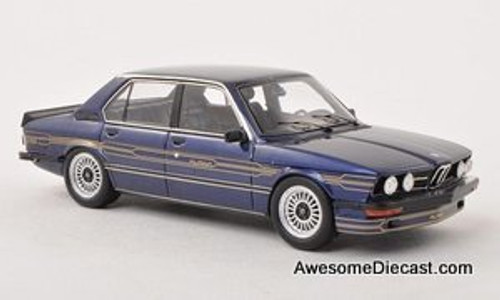 Spark 1:43 BMW 1978 Alpina B7-S Turbo Sedan (E12) Blue