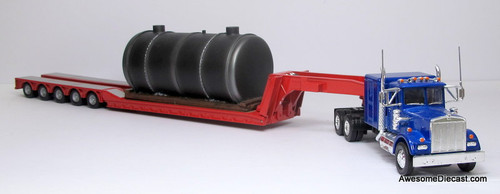 Corgi 1:50 Kenworth W925 W/ Low Loader & Boiler Load