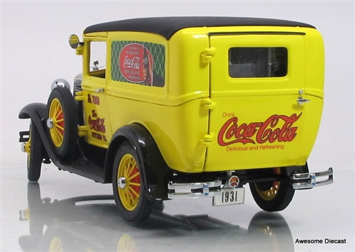 Danbury Mint 1:24 1931 Coca-Cola Panel Delivery Truck