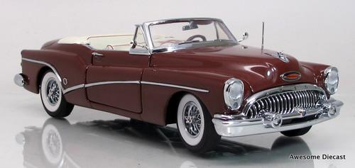 Danbury Mint 1:24 1953 Buick Skylark (Red)