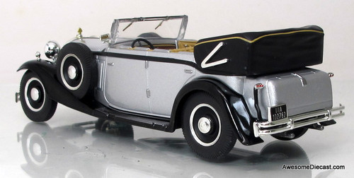 IXO/Altaya 1:43 1930 Maybach V12 DS8 (Silver)