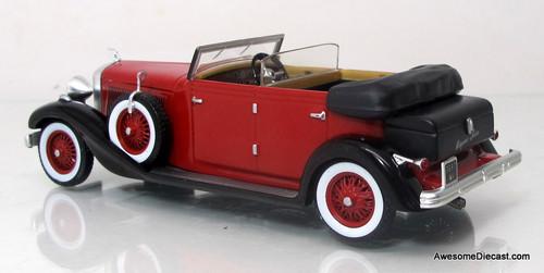 IXO/Altaya 1:43 1934 Hispano Suiza H6C (Red)