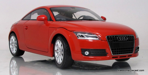Minichamps 1:18 2006 Audi TT Roadster (red)