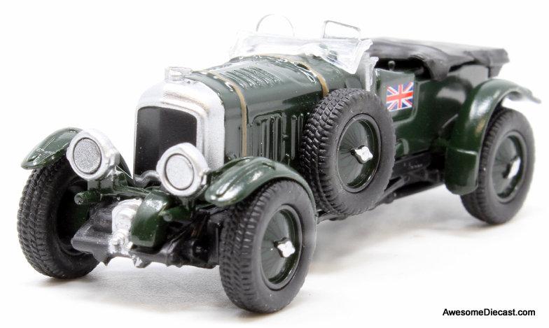 Oxford 1:76 1930 Bentley Blower 4 1/2 Litre, British Racing Green