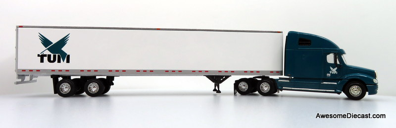 Only One! PEM Tonkin Replicas 1:64 Freightliner Columbia w/ 53' Trailer: TUM Logistics
