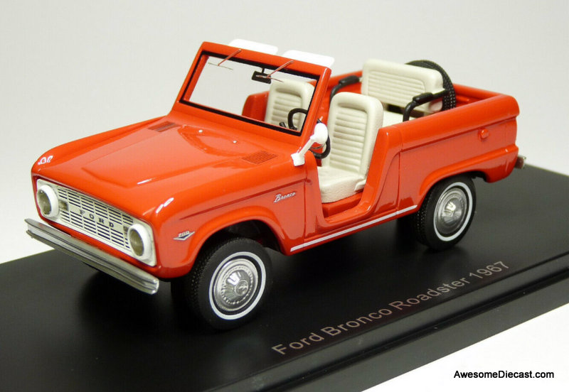 Neo 1:43 1967 Ford Bronco Roadster, Red