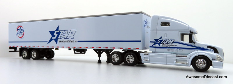 Only One! DG Productions 1:64 Volvo VN w/ 53' Trailer: Star Transportation Inc.