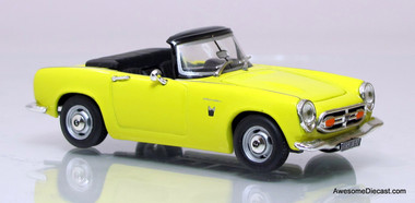 086 C Vitesse 1:43 honda s800 cabriolet ouvert 1966-Noir